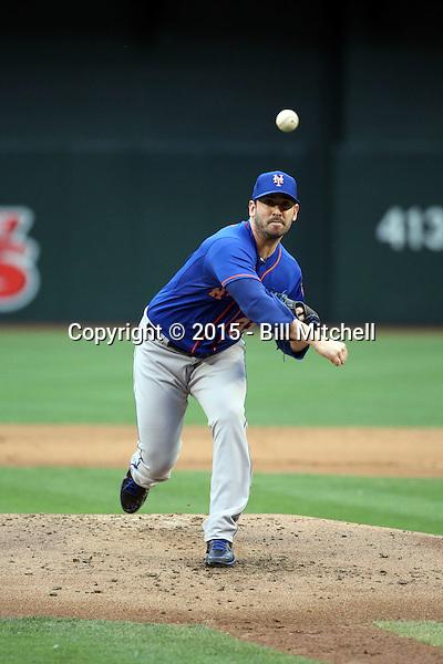 Matt Harvey - 2015 New York Mets (Bill Mitchell)