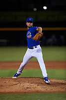 AZL Cubs 1 relief pitcher Cayne Ueckert (67) during an Arizona League game against the AZL Royals on June 30, 2019 at Sloan Park in Mesa, Arizona. AZL Royals defeated the AZL Cubs 1 9-5. (Zachary Lucy/Four Seam Images)