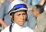 11 February 05: Jockey Edgar Prado at Gulfstream Park in Hallandale Beach, Florida on Donn Handicap Day.  (Bob Mayberger/Eclipse Sportswire)