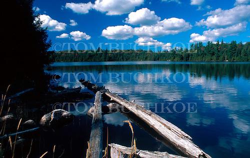Clear Lake, in Craig Lake State Park, in Michigan's Upper Peninsula.