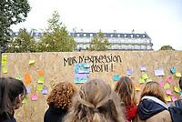 October 29 2017, Paris, France. Demonstration about Violence against Women. # MANIFESTATION CONTRE LES VIOLENCES FAITES AUX FEMMES A PARIS
