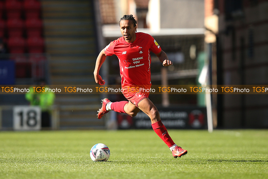 Joe Widdowson of Leyton Orient during Leyton Orient vs Walsall, Sky Bet EFL League 2 Football at The Breyer Group Stadium on 5th April 2021