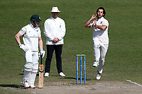 Shane Snater in bowling action for Essex during Worcestershire CCC vs Essex CCC, LV Insurance County Championship Group 1 Cricket at New Road on 2nd May 2021