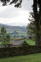 UK, England, Yorkshire.  Scenic View of the Yorkshire dales.
