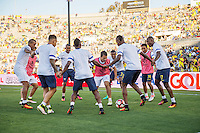 Actio photo during the match Brasil vs Ecuador, at Rose Bowl Stadium Copa America Centenario 2016. ---Foto  de accion durante el partido Brasil vs Ecuador, En el Estadio Rose Bowl, Partido Correspondiante al Grupo -B-  de la Copa America Centenario USA 2016, en la foto: Fidel Martinez<br /> --- 04/06/2016/MEXSPORT/ David Leah.