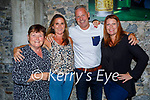 Enjoying the evening in Molly J's on Friday, l to r: Catherine Dennehy, Trease Greaney, Leonard Touhy and Adeline Pallenthi