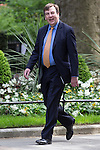 © Joel Goodman - 07973 332324 . 11/05/2015 . London , UK . JOHN WHITTINGDALE arrives at 10 Downing Street this morning (11th May 2015) . Photo credit : Joel Goodman