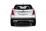 Straight rear view of 2020 Cadillac XT5 Premium-Luxury 5 Door SUV Rear View  stock images