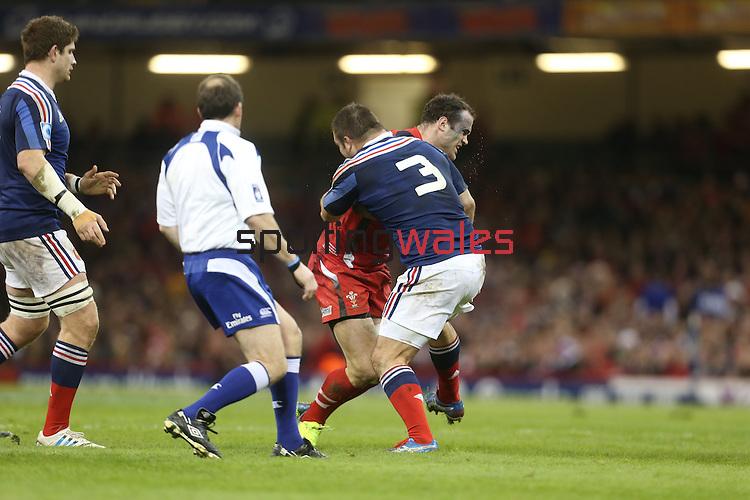 RBS 6 Nations 2014<br /> Wales v France<br /> Millennium Stadium<br /> 21.02.14<br /> <br /> ©Steve Pope-SPORTINGWALES