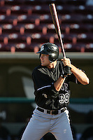 September 6 2009:  Roger Kieschnick of the San Jose Giants during game against the Lake Elsinore Storm at The Diamond in Lake Elsinore,CA.  Photo by Larry Goren/Four Seam Images
