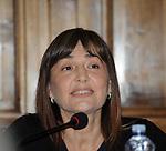 """RENATA POLVERINI<br /> PRESENTAZIONE LIBRO """"DETENUTI"""" DI MELANIA RIZZOLI<br /> BIBLIOTECA ANGELINA  ROMA 2012"""