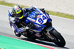 WorldSBK supported test SSP600  day 2 at Circuit de Barcelona-Catalunya, picture show F. Caricasulo (ITA) riding Yamaha YZF R6 from GMT94 Yamaha