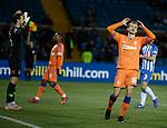 09.02.2019 Kilmarnock v Rangers: Andy Halliday misses a decent chance