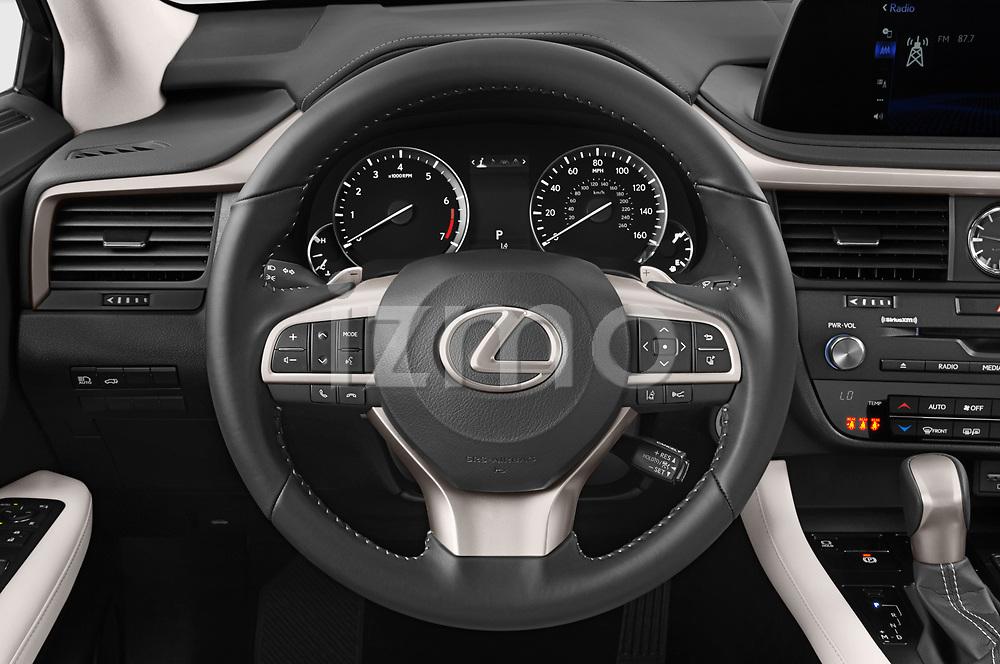 Car pictures of steering wheel view of a 2021 Lexus RX 350 5 Door SUV Steering Wheel