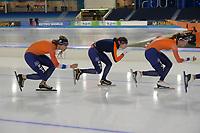 SCHAATSEN: HEERENVEEN: 09-01-2020, IJsstadion Thialf, EK Voorbereiding, ©foto Martin de Jong