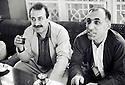 Irak 1991<br /> Roj Shawes et Adnan Mufti a Shaklawa<br /> Iraq 1991<br /> Roj Shawes and Adnan Mufti in Shaklawa