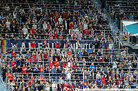 Saint Paul, MN - SEPTEMBER 03: Fans of the United States celebrate during their 2019 Victory Tour match versus Portugal at Allianz Field, on September 03, 2019 in Saint Paul, Minnesota.