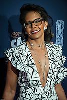 Audrey Pulvar ‡ la 42e CÈrÈmonie des CÈsars ‡ l'arrivÈe sur le tapis rouge de la salle Pleyel ‡ Paris le 24 fÈvrier 2017