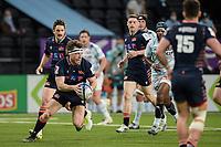 4th April 2021; Paris La Défense Arena, Nanterre, Paris, France; European Champions Cup Rugby, Racing 92 versus Edinburgh;  H Watson (Edinburgh ) looks to distribute the ball
