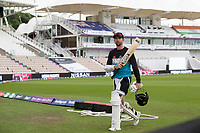 Devon Conway, New Zealand, during a training session ahead of the ICC World Test Championship Final at the Hampshire Bowl on 17th June 2021