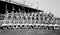 1960 Ottawa Rough Riders. Copyright photograph Ted Grant