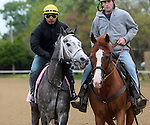 April 26, 2015 Kentucky Derby and Oaks workouts, Churchill Downs.  Oceanwave, owner Gary and Mary West, trainer Wayne Catalano.  By Harlan's Holiday x Tamboz (Tapit) ©Mary M. Meek/ESW/CSM