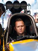Richie Crampton, DHL, top fuel, pits
