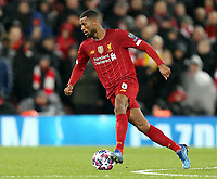 Liverpool's Georginio Wijnaldum<br /> <br /> Photographer Rich Linley/CameraSport<br /> <br /> UEFA Champions League Round of 16 Second Leg - Liverpool v Atletico Madrid - Wednesday 11th March 2020 - Anfield - Liverpool<br />  <br /> World Copyright © 2020 CameraSport. All rights reserved. 43 Linden Ave. Countesthorpe. Leicester. England. LE8 5PG - Tel: +44 (0) 116 277 4147 - admin@camerasport.com - www.camerasport.com