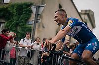 Philippe Gilbert (BEL/Quick Step floors) at the Team presentation in La Roche-sur-Yon<br /> <br /> Le Grand Départ 2018<br /> 105th Tour de France 2018<br /> ©kramon