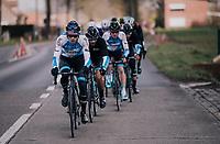 Israël Cycling Academy at Driedaagse Brugge-De Panne 2018<br /> <br /> Bruges - De Panne (202km)
