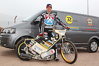 Mikkel Bech of Lakeside Hammers - Lakeside Hammers Speedway Press & Practice Day at Arena Essex Raceway - 20/03/15 - MANDATORY CREDIT: Gavin Ellis/TGSPHOTO - Self billing applies where appropriate - contact@tgsphoto.co.uk - NO UNPAID USE