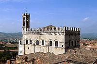 Italien, Umbrien, Palazzo dei Consoli 14.Jh.