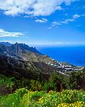 Spanien, Kanarische Inseln, Teneriffa, Taganana, Bergdorf im Anaga Gebirge | Spain, Canary Islands, Tenerife, Taganana, mountain village at Anaga mountains