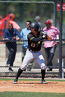 Pittsburgh Pirates Garrett Brown (63) during a Minor League Spring Training game against the Philadelphia Phillies on March 23, 2018 at the Carpenter Complex in Clearwater, Florida.  (Mike Janes/Four Seam Images)