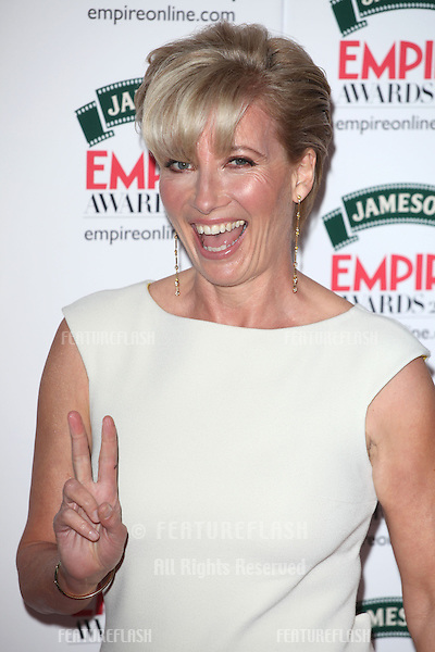Emma Thompson arriving for the 2014 Empire Film Awards, at the Grosvenor House Hotel, London. 30/03/2014 Picture by: Alexandra Glen / Featureflash