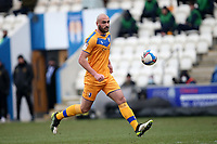 Farrend Rawson of Mansfield Town during Colchester United vs Mansfield Town, Sky Bet EFL League 2 Football at the JobServe Community Stadium on 14th February 2021