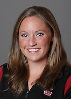 STANFORD, CA - OCTOBER 28:  Sara Lowe of the Stanford Cardinal synchronized swimming team poses for a headshot on October 28, 2009 in Stanford, California.