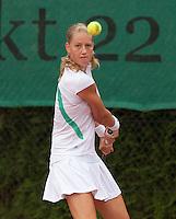 12-8-09, Den Bosch,Nationale Tennis Kampioenschappen, 1e ronde,  Sabine van der Sar