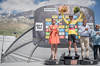 Richie Porte (AUS/BMC) is still the overall race leader going into the final stage tomorrow<br /> <br /> stage 7: Aoste > Alpe d'Huez (168km)<br /> 69th Critérium du Dauphiné 2017