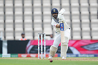 Ajinkya Rahane, India pushes to mid off during India vs New Zealand, ICC World Test Championship Final Cricket at The Hampshire Bowl on 19th June 2021