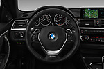 Car pictures of steering wheel view of a 2020 BMW 4 Series 430i Coupe 2 Door Coupe