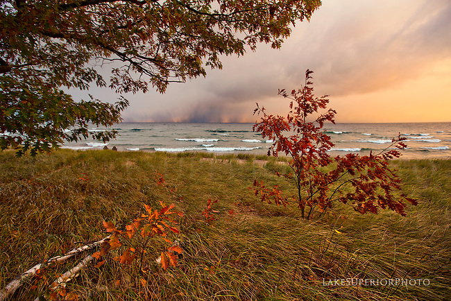 ake Superior autumn and lake effect