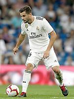 Real Madrid's Nacho Fernandez during La Liga match. August 19,2018.  *** Local Caption *** © pixathlon<br /> Contact: +49-40-22 63 02 60 , info@pixathlon.de