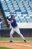 Jimmy Titus (5) of East Catholic High School in Stafford, Connecticut playing for the Texas Rangers scout team during the East Coast Pro Showcase on July 28, 2015 at George M. Steinbrenner Field in Tampa, Florida.  (Mike Janes/Four Seam Images)