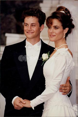 Kirk Cameren & Chelsea Noble 1991<br /> Photo By John Barrett-PHOTOlink.net / MediaPunch