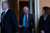 United States Senator John Cornyn (Republican of Texas) departs Republican Senate luncheons on Capitol Hill in Washington D.C., U.S., on Tuesday, November 5, 2019.<br />  <br /> Credit: Stefani Reynolds / CNP /MediaPunch