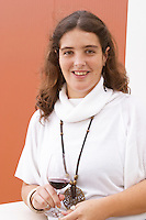 Sofia Uva, daughter of Henrique. Henrque HM Uva, Herdade da Mingorra, Alentejo, Portugal