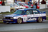 1991 British Touring Car Championship. #4 Tim Harvey (GBR). BMW Team Labatt's. BMW M3.
