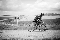 Mark Cavendish (GBR/DimensionData) during recon of the 114th Paris - Roubaix 2016