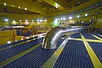 Reator atômico. Usina Nuclear Angra 2. Angra dos Reis. Rio de Janeiro. 2007. Foto de Luciana Whitaker.